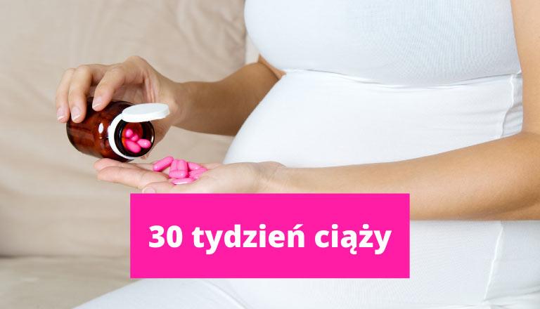 30 tydzień ciąży – ciąża tydzień po tygodniu