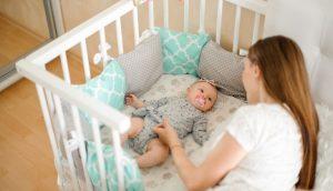 wyprawka dla noworodka łóżeczko
