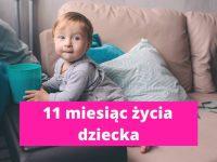 11 miesiąc życia dziecka – rozwój dziecka w 11 miesiącu życia