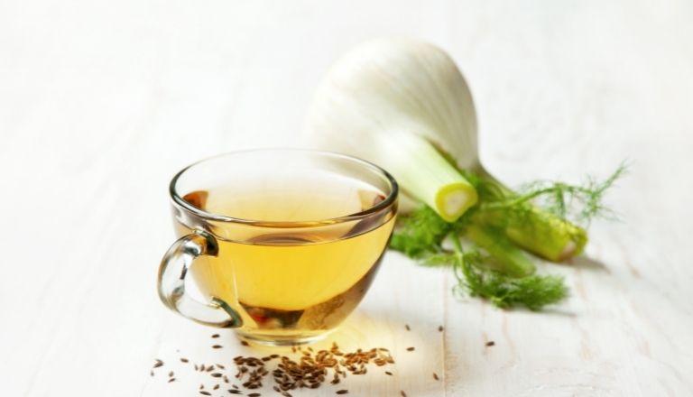 Herbata z kopru włoskiego dla noworodka ile