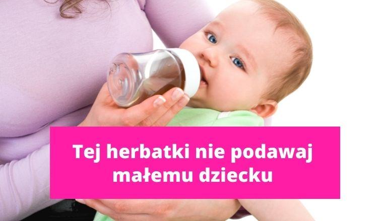 Herbata z kopru włoskiego dla noworodka